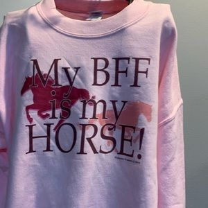 Gildan Tops - Gildan Horse Sweatshirt